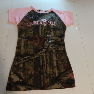 Paramount Outdoors Mossy Oak Top, Tag Size Medium